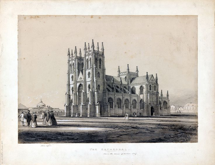 St Andrew's Cathedral 1847 | The Dictionary of Sydney