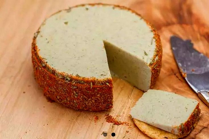 <p>This almond cheese is soy and diary-free, pretty enough for entertaining and delicious enough to eat all by yourself.</p>