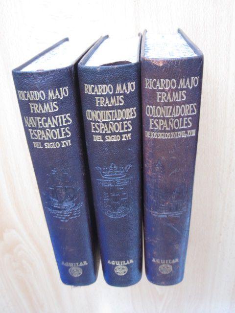 Vidas de los navegantes, conquistadores y colonizadores españoles AGUILAR