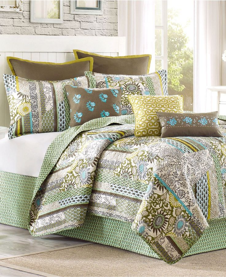 Echo Bedding, Boho Chic Coverlets - Bedding Collections - Bed & Bath - Macy's