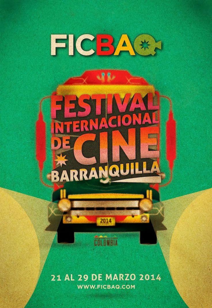 Film Festival Posters: Barranquilla International Film Festival 2014