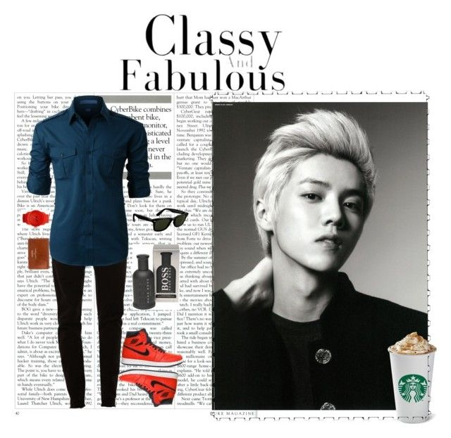 """Luhan"" by exolarmyblock on Polyvore featuring картины"