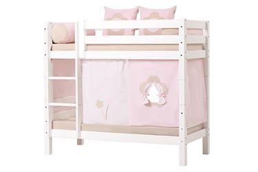 Detaljer for Hoppekids Etasjeseng 70x160cm, Premium Hvit, To sengehester