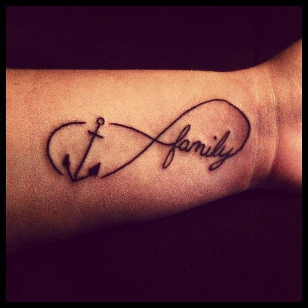 Image result for infinity anchor tattoo for men