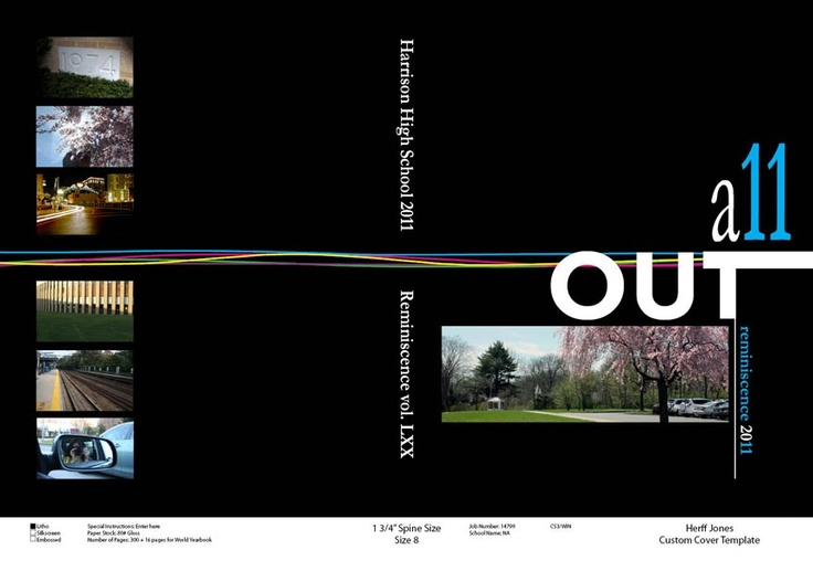 yearbook cover ideas for high school - Google Search