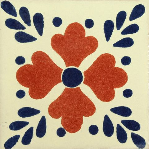 Traditional Decorative Mexican tile