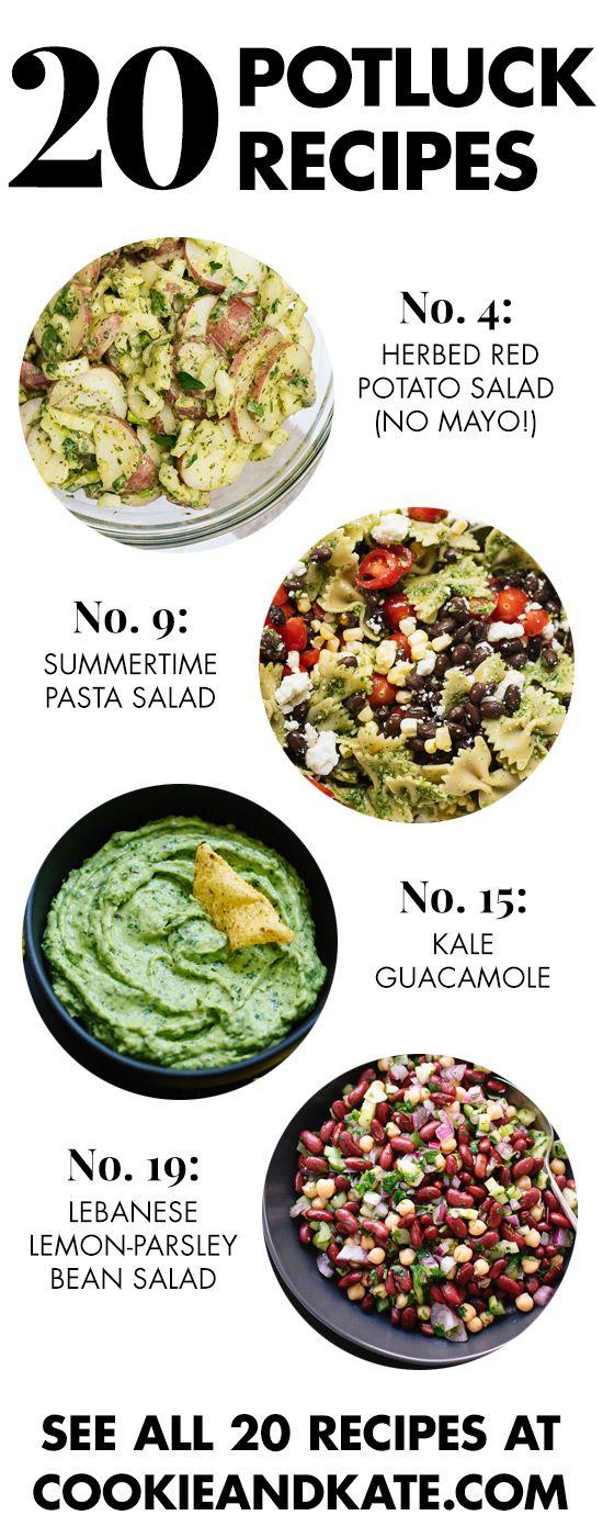 20 Summer Potluck Recipes