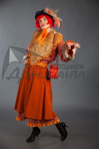Прокат костюмов буратино кот базилио лиса алиса