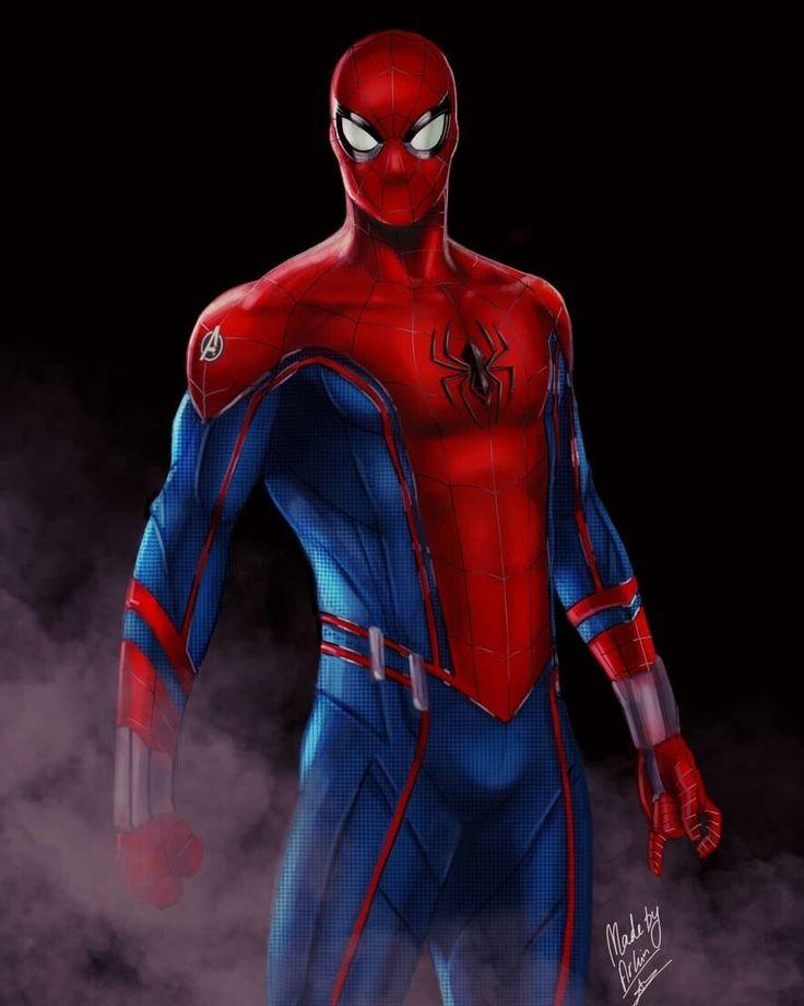 получите уникальную арты костюма человека паука татуировки