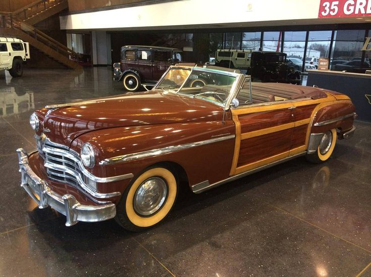 1949 Chrysler Town Amp Country Convertible Classic Woody