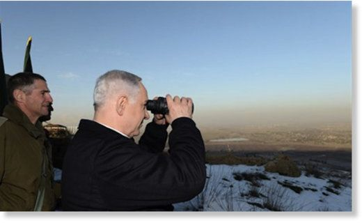 Afra'a Dagher The Duran Wed, 21 Sep 2016 00:00 UTC  Netanyahu at the Golan…