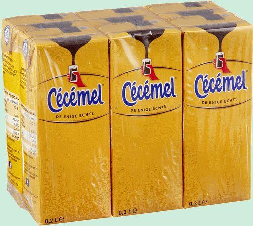 CECEMEL lait chocolaté (brique) 6x20cl
