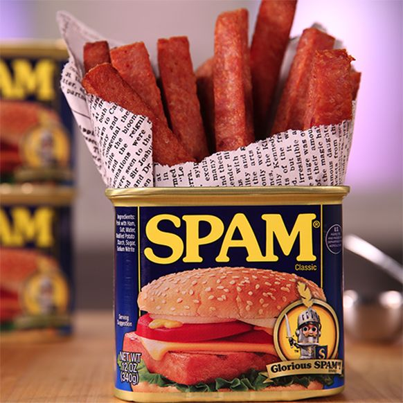 Frying Spam makes it better. It just does.