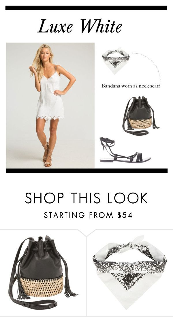 Luxe White by sunkissed-the-collective on Polyvore featuring Sol Sana and Rue Stiic