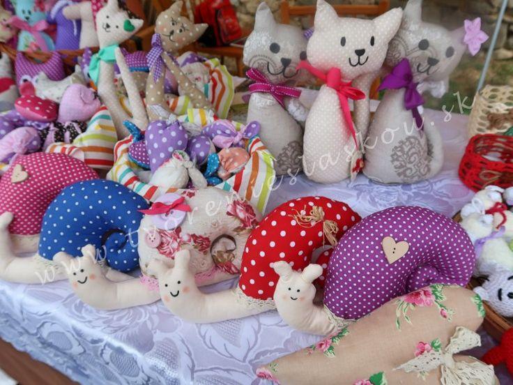 šitie, mačky, slimáci srdiečka, my hobby sewing
