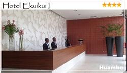 O Hotel Ekuikui I é uma unidade hoteleira de excelência, localizada no centro da cidade do Huambo a 200 metros da sede do Governo Provincial. Com uma classificação de 4 estrelas, apresentamos um vasto leque de serviços de alta qualidade que vão desde o alojamento à restauração, passando pelos eventos sociais e festivos. O hotel Ekuikui I prima pela superioridade e excepção, onde o nível elevado da qualidade dos nossos serviços e a exclusividade são uma garantia.