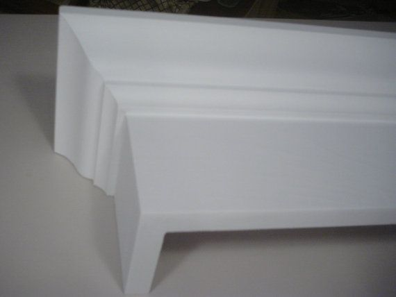 28 Quot Crown Molding Cornice Wood Window Valance Satin White
