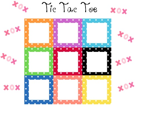 9 best Tic tac toe math images on Pinterest Classroom ideas - sample tic tac toe template