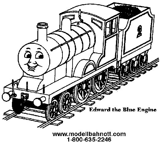 Edward Thomas Color Colouring Pages