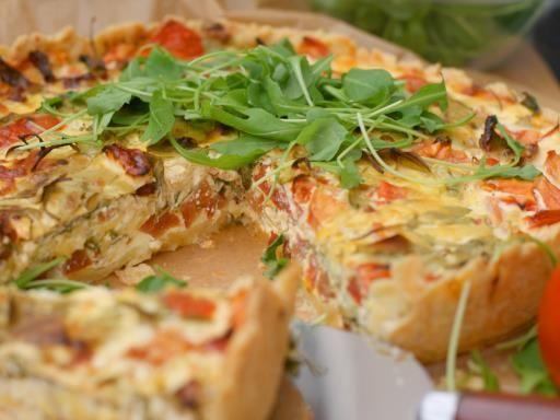 Quiche provençale - Recette de cuisine Marmiton : une recette