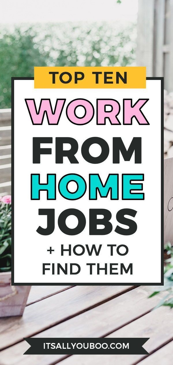 How to Find Work From Home Jobs | Work from home jobs, Work ... Be Your Own Boss Work From Home Job on working remotely from home, be your own boss entertainment, be your own person, work at home,