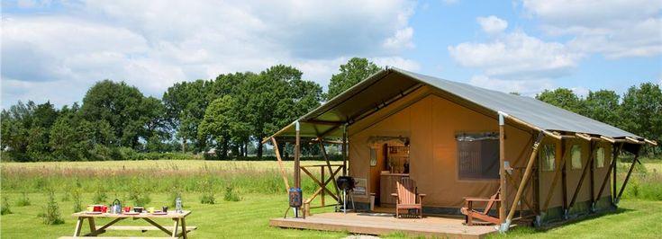 Luxe Lodgetent - logeren bij de boer | FarmCamps