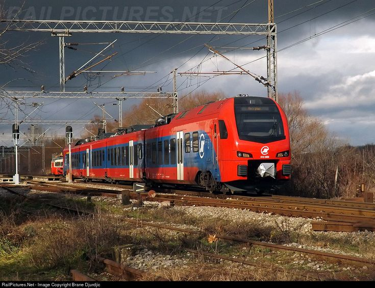 RailPictures.Net Photo: 413-033/034 ZS - Zeleznice Srbije Stadler-FLIRT 3 at Sremski Karlovci, Serbia and Montenegro by Brane Djurdjic