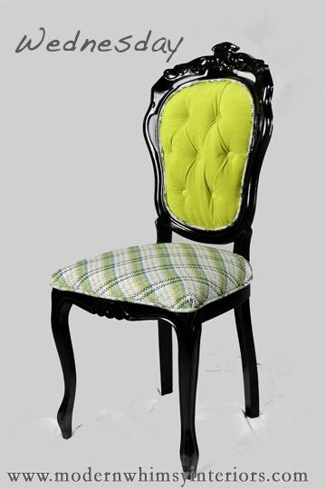 Supercute chair: Tufted Chair