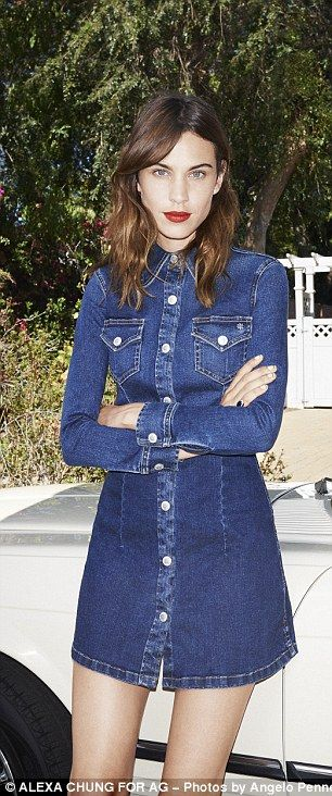 Alexa Chung Launch Fashion Brand