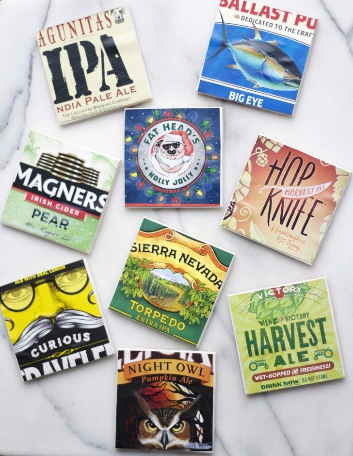 DIY Beer Box Coasters5