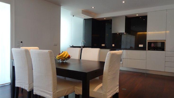 Aluguer de apartamento para férias em Vila Nova de Gaia - Sala e cozinha em 'open space'