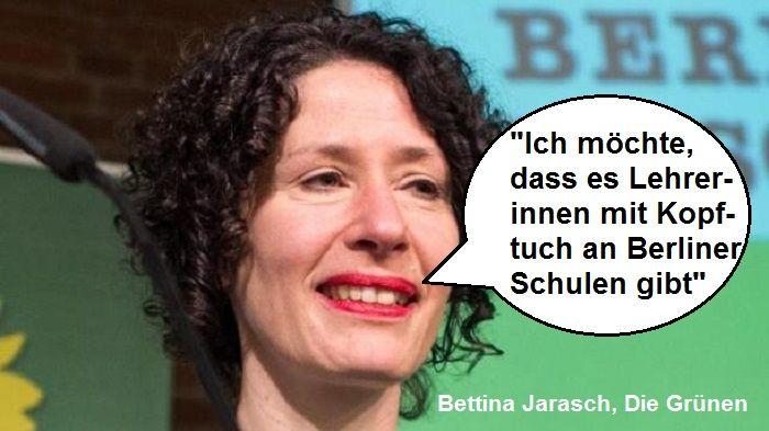 Grüne (Berlin) wollen Lehrerinnen mit Kopftuch | PI-NEWS