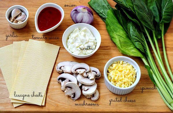 lasagne recipe-homemade lasagna ingredients