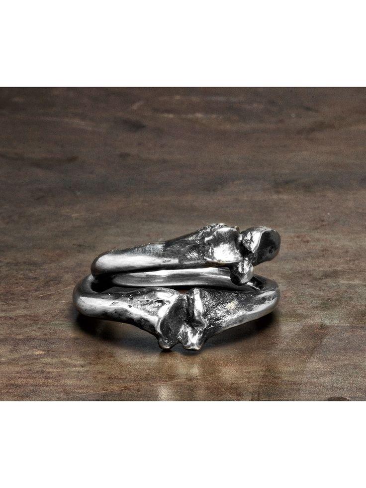 WERKSTATT:MÜNCHEN | Cross Bone Ring  Acquire www.fallow.com.au