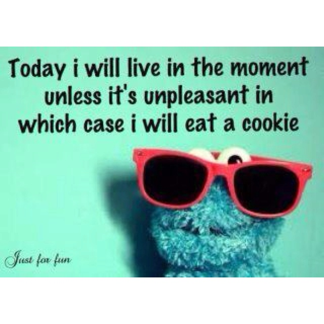LOVE IT.Words Of Wisdom, Cookie Monster, Chocolates Chips, Cookies Monsters, Quotes, Life Lessons, New Life, Funny, Life Mottos