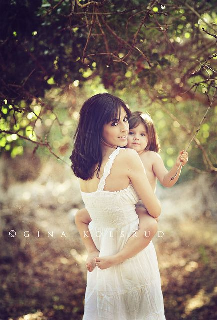 mommy & daughter