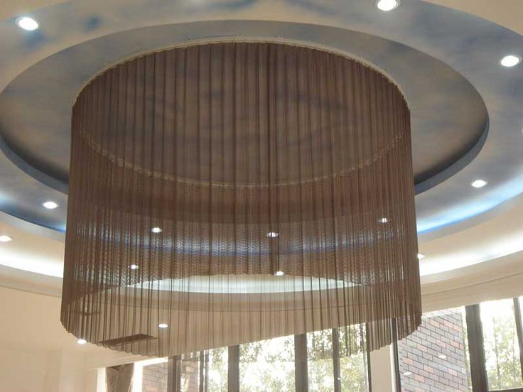 Metal Curtain A House Ideas Pinterest Metal Mesh