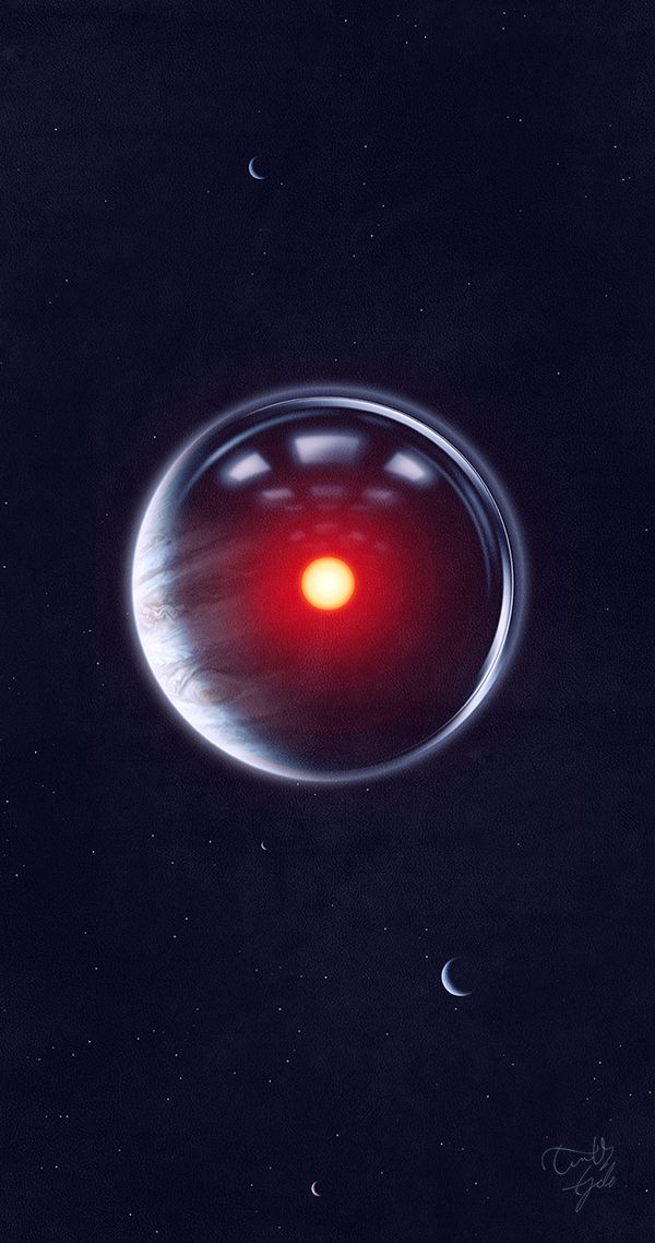 HAL9000 Illustration - I always feel more sorry for HAL when Dave switches him off, than I do for 4 people he killed :S Frankly, Poole seemed like a dick anyway, and other 3 never had a single line so, yeah