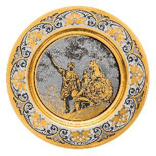 Тарелка подарочная Юрий Долгорукий - Блюда с логотипом <- Корпоративное <- VIP - Каталог | Универсальный интернет-магазин подарков и сувениров