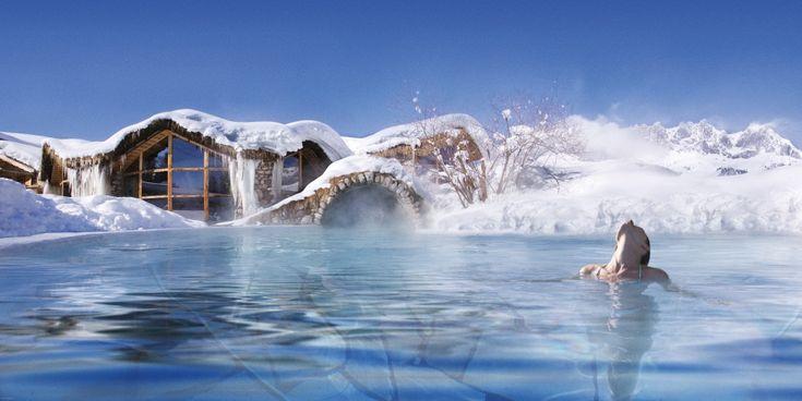 Sole Pool mit 38 Grad | © Foto Stanglwirt