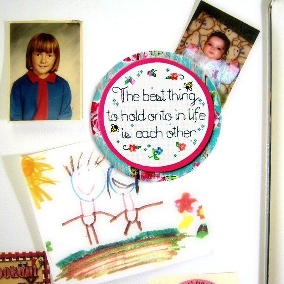 Sentimental Quote Magnet Mindfulness Gift For Long