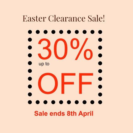 up to 30% OFF Easter Clearance Sale! Sale Ends 8th April! by yooounique on Etsy