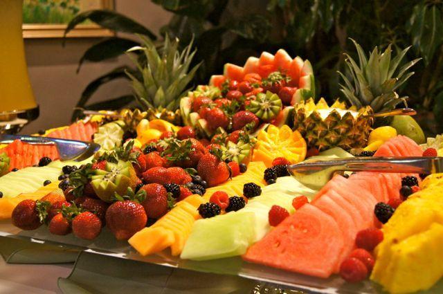 Wedding Reception Food Trays Salt Lake City