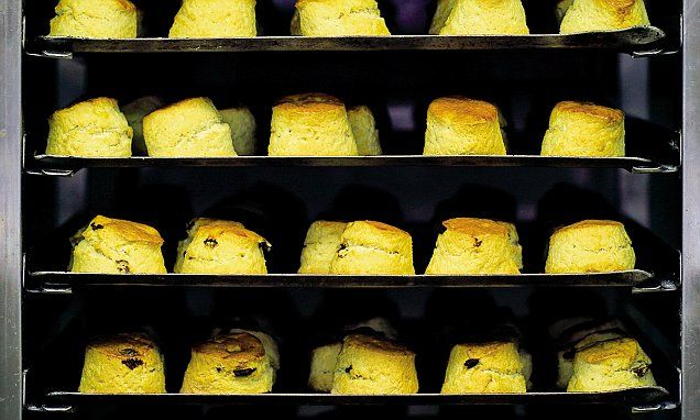 Claridge's confidential: Claridge's scones | Daily Mail Online