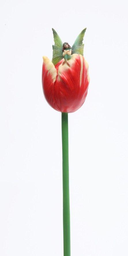 Sheila Wolk Art | Sheila Wolk ART Collection Tulip Stem Flitty Flower Fairy Dwellers ...