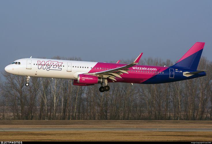 HA-LXN   Airbus A321-231   Wizz Air   JetPhotos