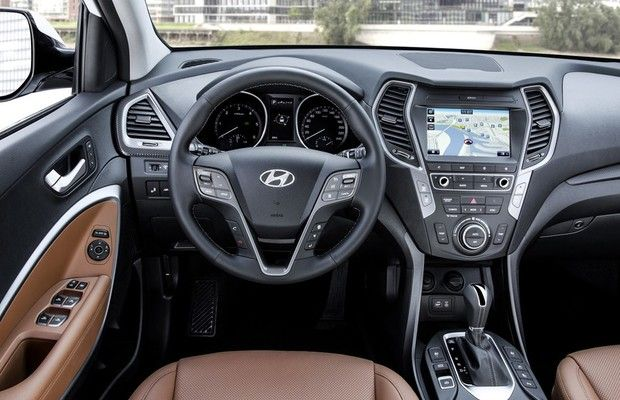 Hyundai Santa Fe reestilizado (Foto: Divulgação)
