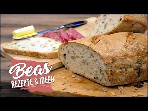 Schnelles Dinkelbrot Rezept | Einfach Brot backen ohne Sauerteig #BEAner - YouTube