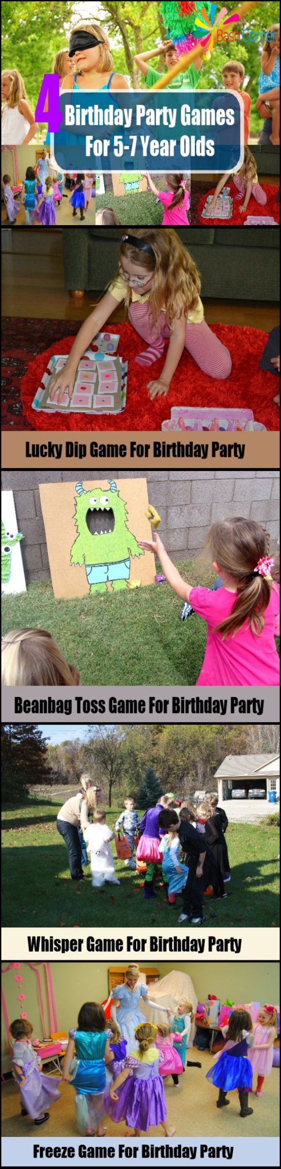 Party Games For 5-7 Year Olds