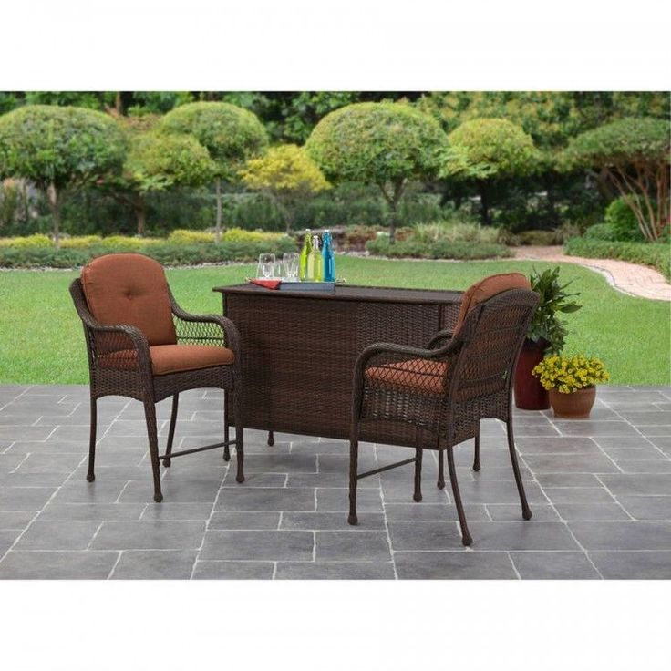 Patio Bar Set Table Chairs Backyard Outdoor Yard Garden Dining Deck  Furniture. Best 25  Outdoor patio bar sets ideas on Pinterest   Outdoor patio